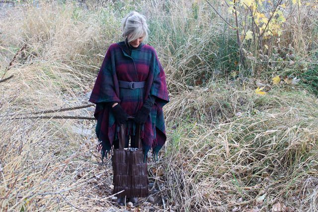 Gratis Damen Schnittmuster - DIY Wool Blanket Coat