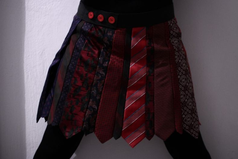 Gratis Damen Schnittmuster - Krawattenrock