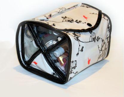 Gratis Taschen Schnittmuster - DIY Kosmetiktasche