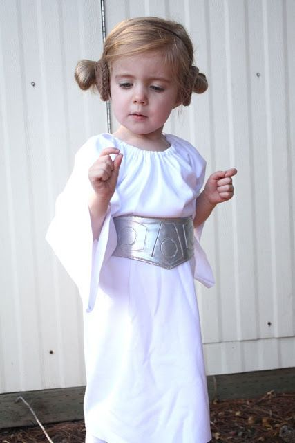 Gratis Fasching Schnittmuster - Princess Leia costume+belt tutorial