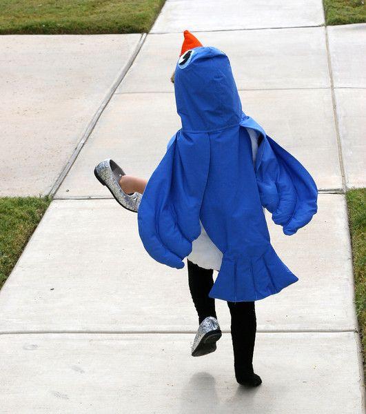 Gratis Fasching Schnittmuster - Bluebird Costume Tutorial