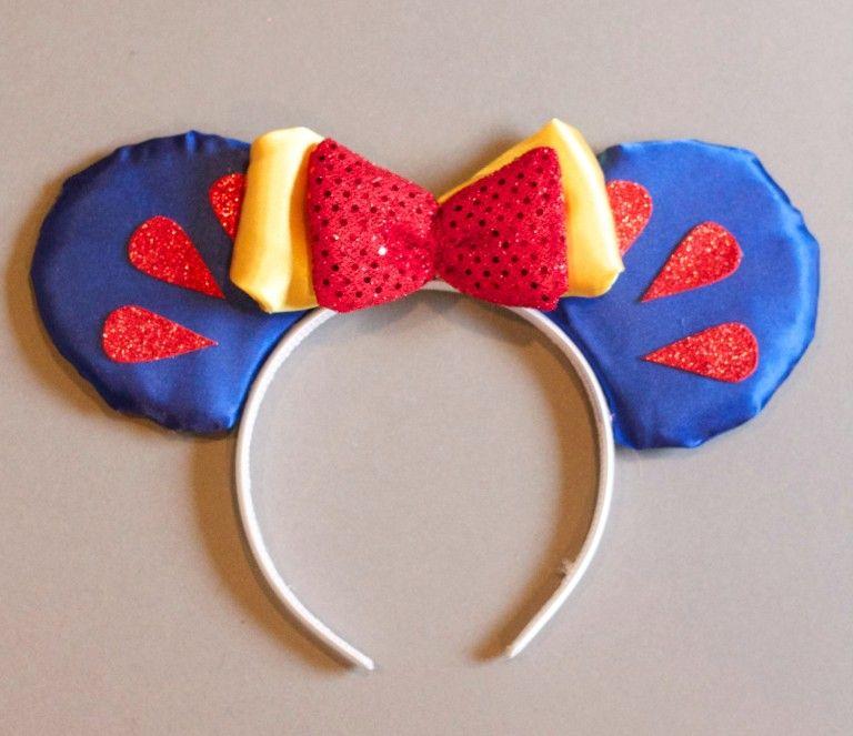 Gratis Fasching Schnittmuster - DIY Disney Mickey Ears