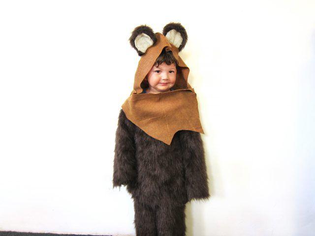 Gratis Fasching Schnittmuster - Star Wars Ewok Costume