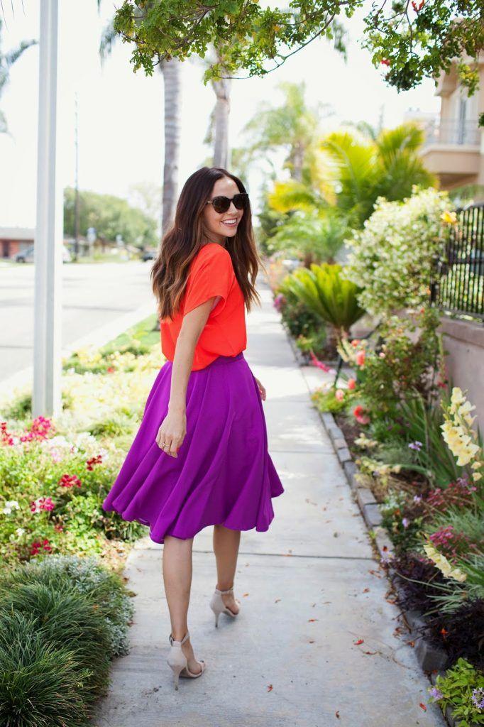 Gratis Damen Schnittmuster - Easy Circle Skirt Tutorial