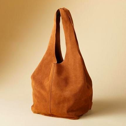 Gratis Taschen Schnittmuster - Make Your Own Leather Soho Slouch Tote