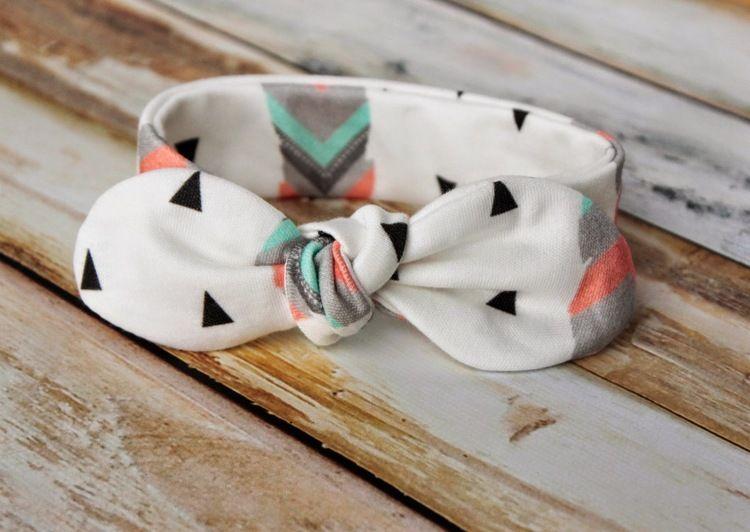 Gratis Kinder Schnittmuster - Knot Bow Headband Pattern