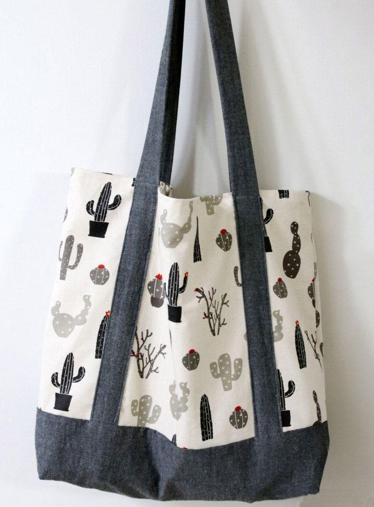 Gratis Taschen Schnittmuster - Eco-Friendly Tote Bag