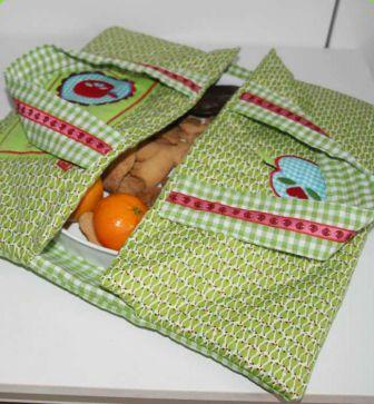 Gratis Taschen Schnittmuster - E-P Kuchen-Tartétasche