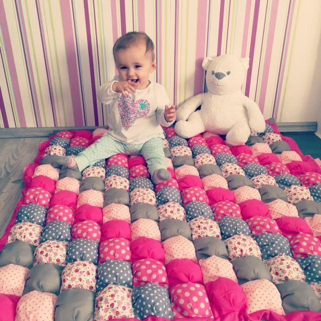 Gratis Kinder Schnittmuster - Baby-Bubble-Decke