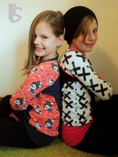 Gratis Kinder Schnittmuster - Little Pina & Pino