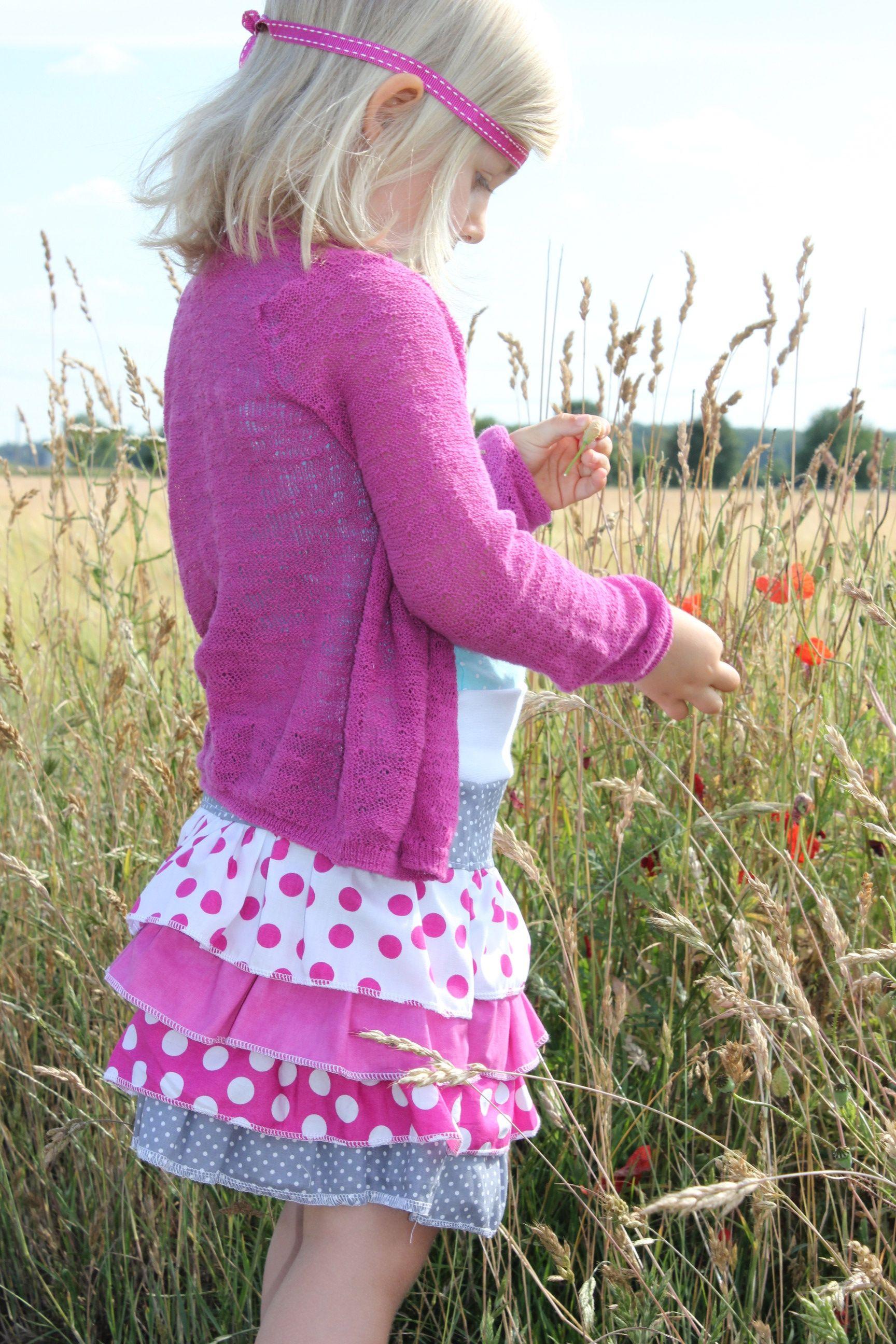 Gratis Kinder Schnittmuster - Little Lady Rock