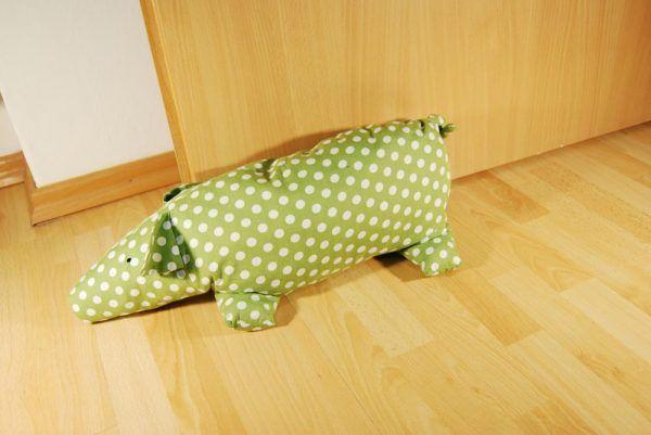 Gratis Accessoires Schnittmuster - Piggy Piggs und der Türstopper