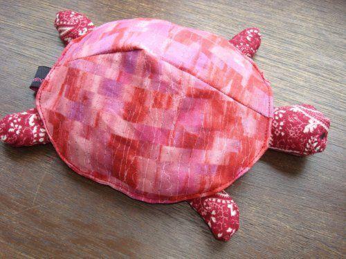 Gratis Spielsachen Schnittmuster - Nöck Nöck die Schildkröte